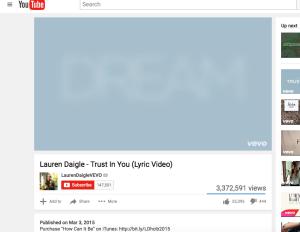 Lauren Daigle Trust in You