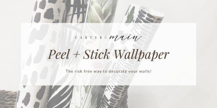 Carter + Main : Peel & StickWallpaper!